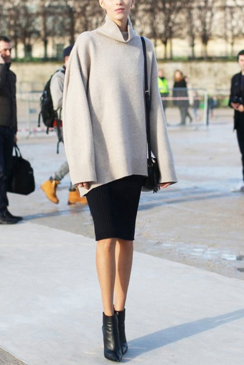 Image result for pencil skirt with boots